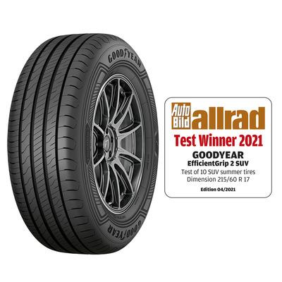 Goodyear efficientgrip 2 suv allrad test winnter 2021